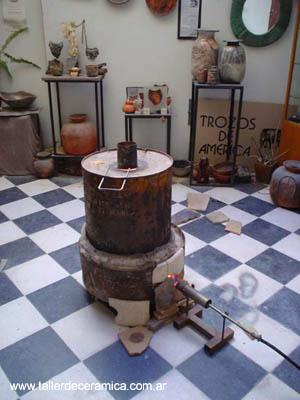 Ceramica raku taringa for Calcomanias para ceramica horno